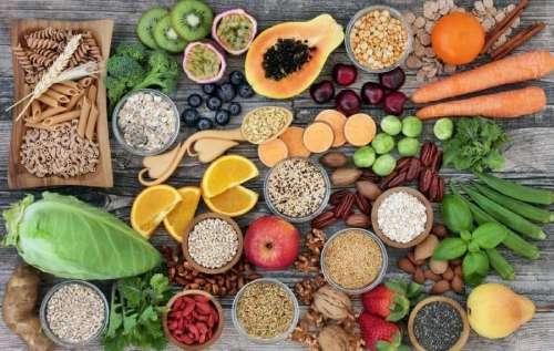 Plant-based foods.